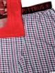 Pijama Pettrus niño corto algodón rojo