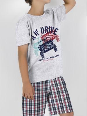 Pijama Admas niño Awdrive algodón bolsillos