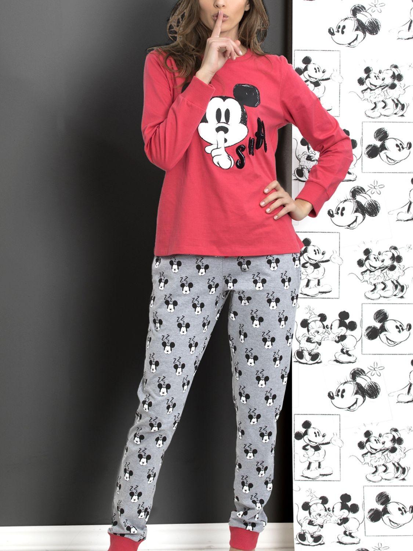 9d0a5a3bf Fresa Pijama Mujer Zzz Color Minnie Disney Algodón PAHqSxqY1