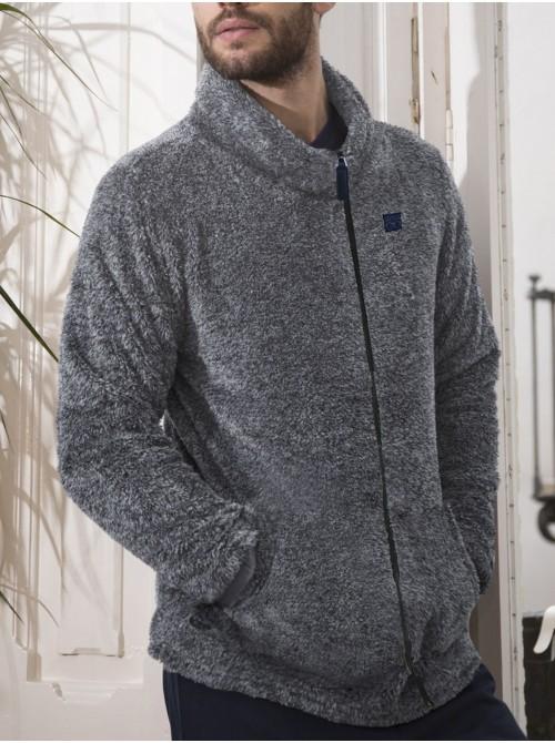Bata chaqueta hombre ADMAS Glasses gris Coralina