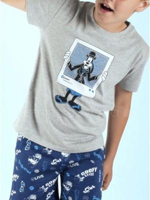 Pijama niño Disney Goofy algodón verano