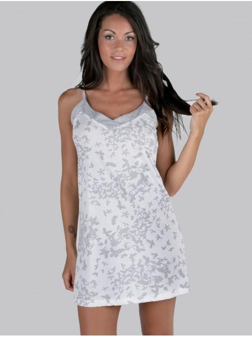 Camisón Pettrus algodón blanco