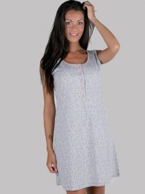 Camisón mujer corto Pettrus hombrera tapeta algodón