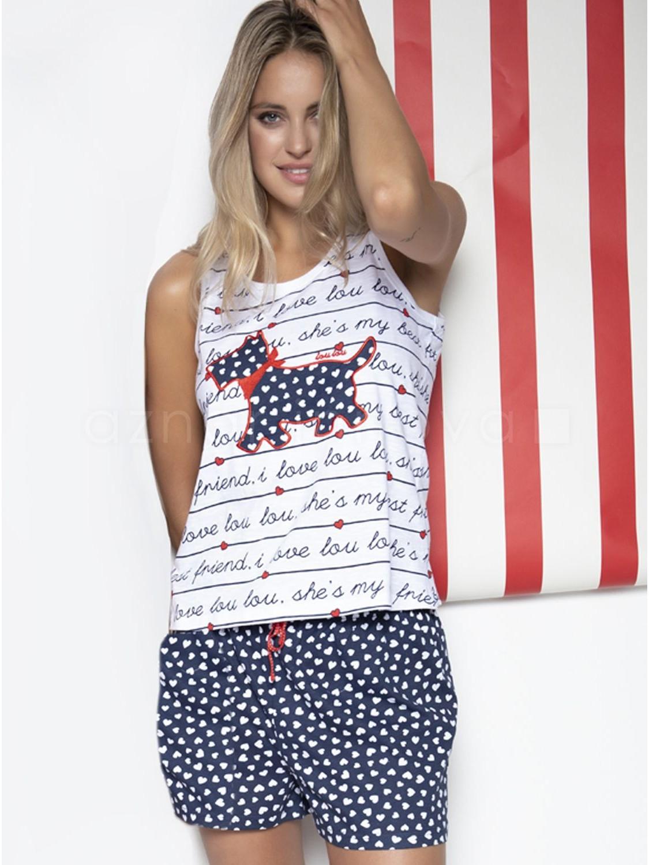dbc4907f21 Pijama mujer Lou Lou Letters algodón verano