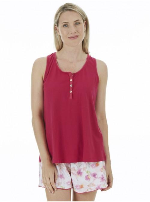 Pijama mujer J&J Brothers punto algodón