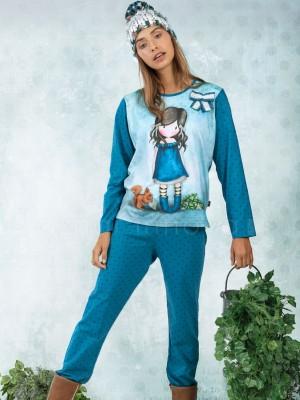 Pijama mujer Santoro You Brought Me Love algodón