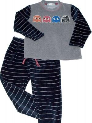Pijama niño PETTRUS come cocos terciopelo
