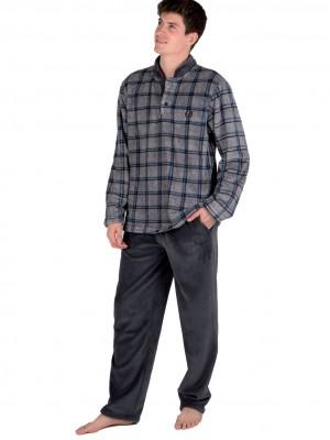 Pijama térmico hombre PETTRUS gris corel