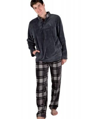 Pijama térmico hombre PETTRUS cuadros corel