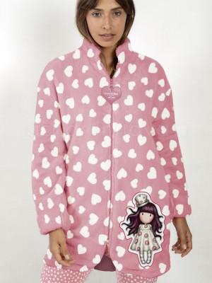 Bata térmica mujer Santoro Loveheart rosa corel