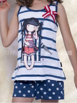 Pijama verano niña Santoro Summer Days caja metal