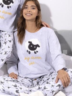 Pijama largo mujer Admas Big Dream algodón