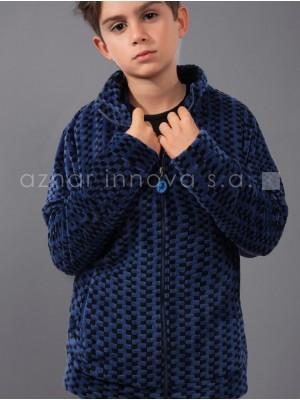 Bata corta térmica niño Lois Bandit azul corel