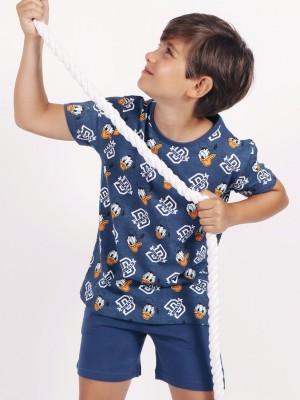 Pijama Verano Niño DISNEY Tween Chico Donald D Marino Algodón.