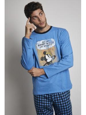 Pijama Mickey S Question HOMBRE DISNEY INVIERNO Azul