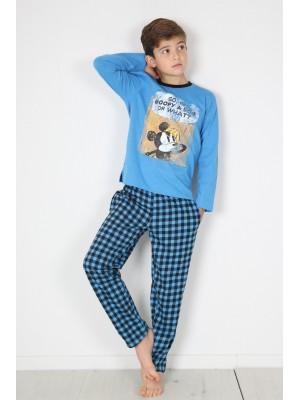 Pijama Tween Mickey S Question NIÑO DISNEY INVIERNO Azul