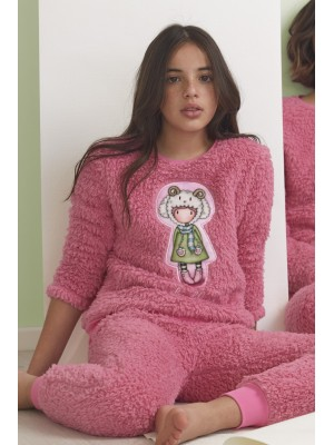 Pijama Tween Borreguito Lambkins NIÑA SANTORO GORJUSS INVIERNO Rosa