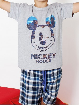 Pijama Disney Mickey City Niño Algodón 50161