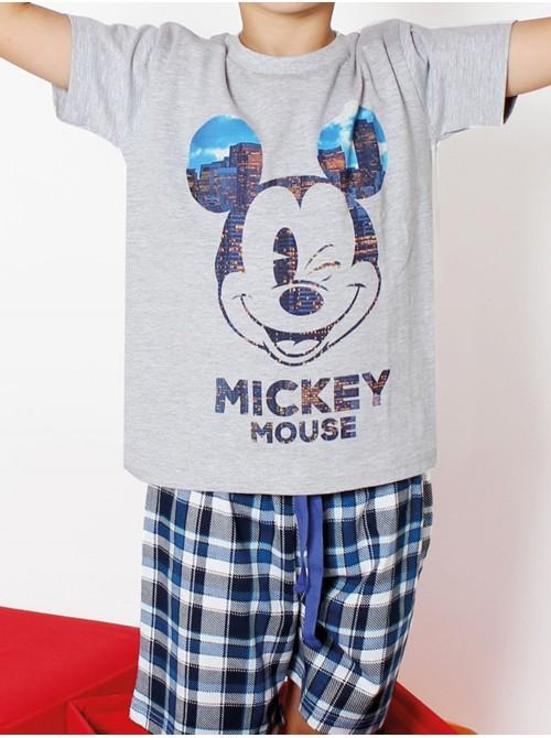 Pijama Disney Mickey City Niño Algodón 50161