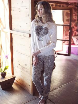 Pijama Admas Queen Heart Algodón 50454