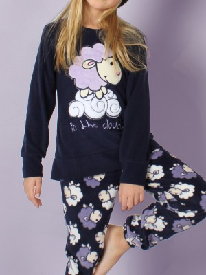 Pijama niña Calentito Sheep Clouds 50480